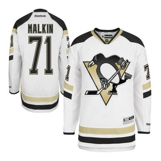 Evgeni Malkin Pittsburgh Penguins Authentic 2014 Stadium Series Reebok Jersey - White