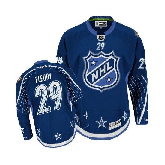 Marc-Andre Fleury Pittsburgh Penguins Premier 2012 All Star Reebok Jersey Premier 2012 All Star Reebok Jersey - Navy Blue