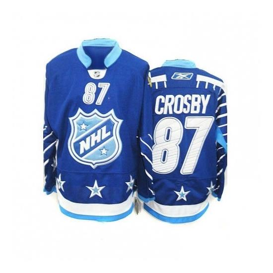 Sidney Crosby Pittsburgh Penguins Premier 2011 All Star Reebok Jersey - Blue