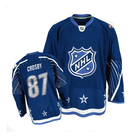 Sidney Crosby Pittsburgh Penguins Premier 2011 All Star Reebok Jersey - Navy Blue