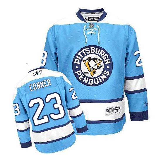 Chris Conner Pittsburgh Penguins Premier Third Reebok Jersey - Light Blue