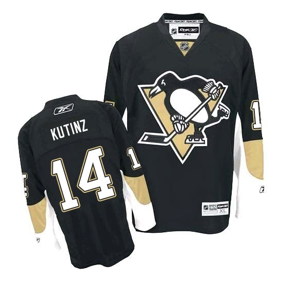 Chris Kunitz Pittsburgh Penguins Authentic Home Reebok Jersey - Black