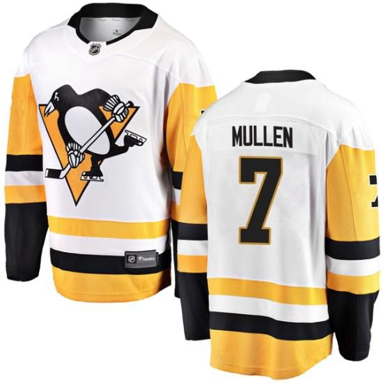 Joe Mullen Pittsburgh Penguins Youth Breakaway Away Fanatics Branded Jersey - White