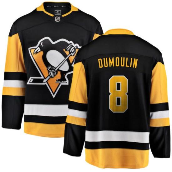 Brian Dumoulin Pittsburgh Penguins Breakaway Home Fanatics Branded Jersey - Black