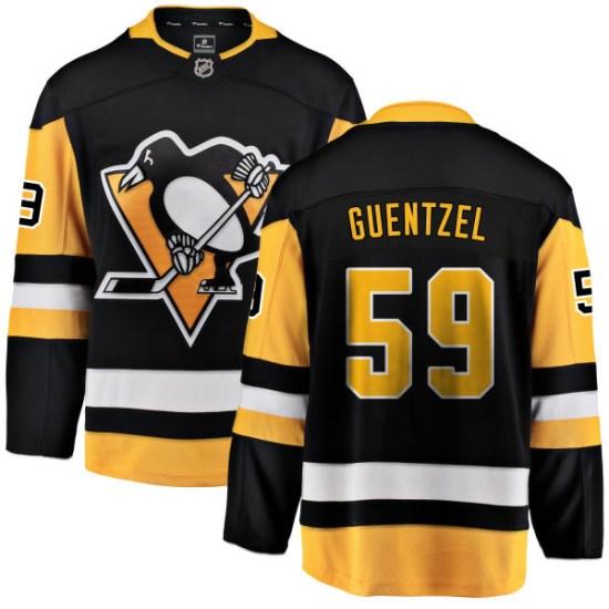 Jake Guentzel Pittsburgh Penguins Breakaway Home Fanatics Branded Jersey - Black
