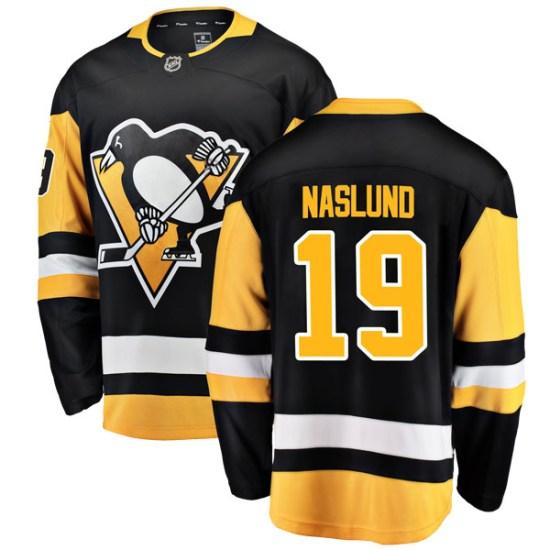 Markus Naslund Pittsburgh Penguins Breakaway Home Fanatics Branded Jersey - Black