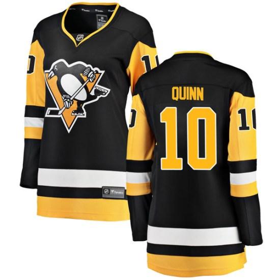 Dan Quinn Pittsburgh Penguins Women's Breakaway Home Fanatics Branded Jersey - Black