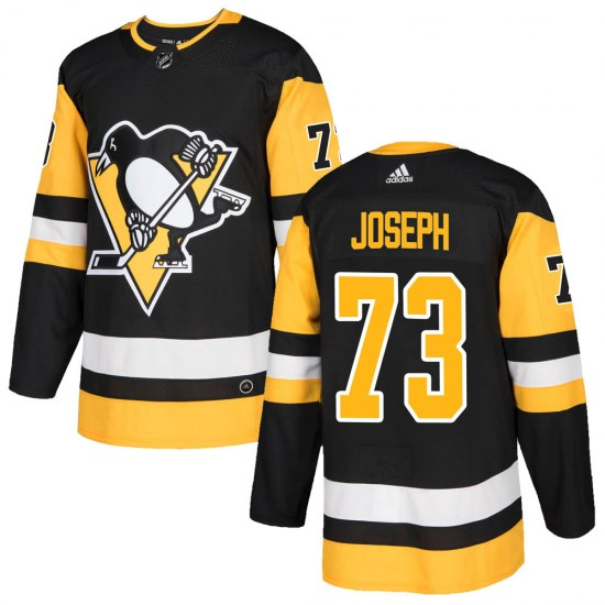 Pierre-Olivier Joseph Pittsburgh Penguins Authentic ized Home Adidas Jersey - Black