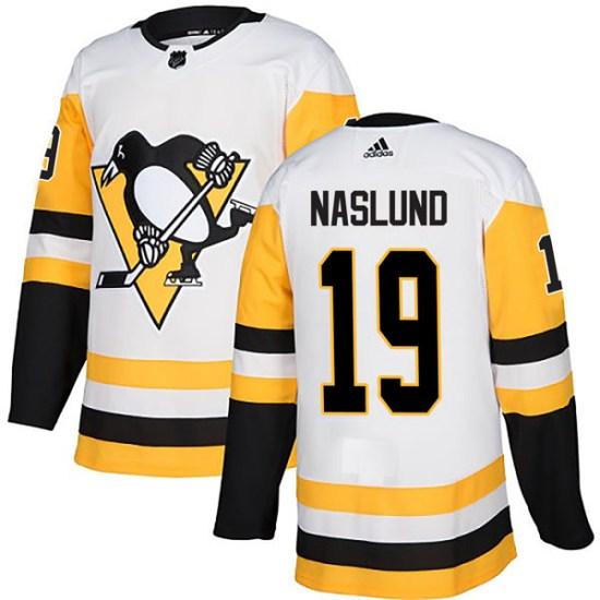Markus Naslund Pittsburgh Penguins Authentic Away Adidas Jersey - White