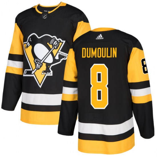 Brian Dumoulin Pittsburgh Penguins Authentic Adidas Jersey - Black