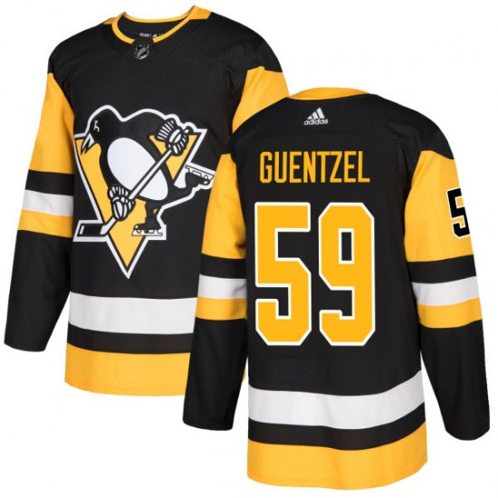 Jake Guentzel Pittsburgh Penguins Authentic Adidas Jersey - Black