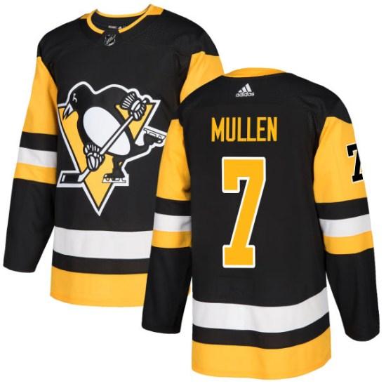 Joe Mullen Pittsburgh Penguins Authentic Adidas Jersey - Black
