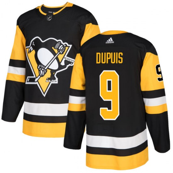 Pascal Dupuis Pittsburgh Penguins Authentic Adidas Jersey - Black