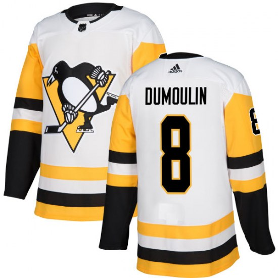 Brian Dumoulin Pittsburgh Penguins Authentic Adidas Jersey - White